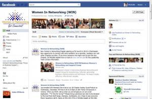 Women in Networking on Facebook
