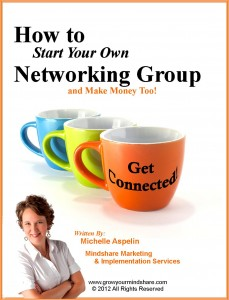 How to Start a Networking Group by Michelle Aspelin