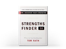 My Top 5 Strengths by StrengthsFinder